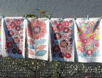 Tea Towels and Peg Bags